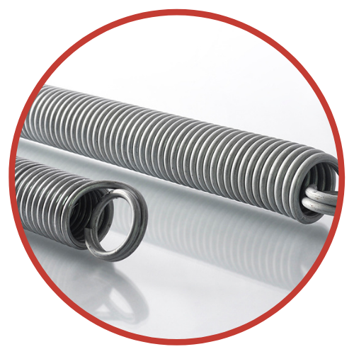 Commercial & Industrial Torsion Springs, Used by The Door Master